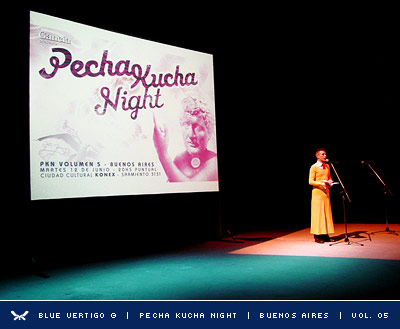 Pecha Kucha Night | Volumen 5 | Photo 01 | Blue Vertigo ©